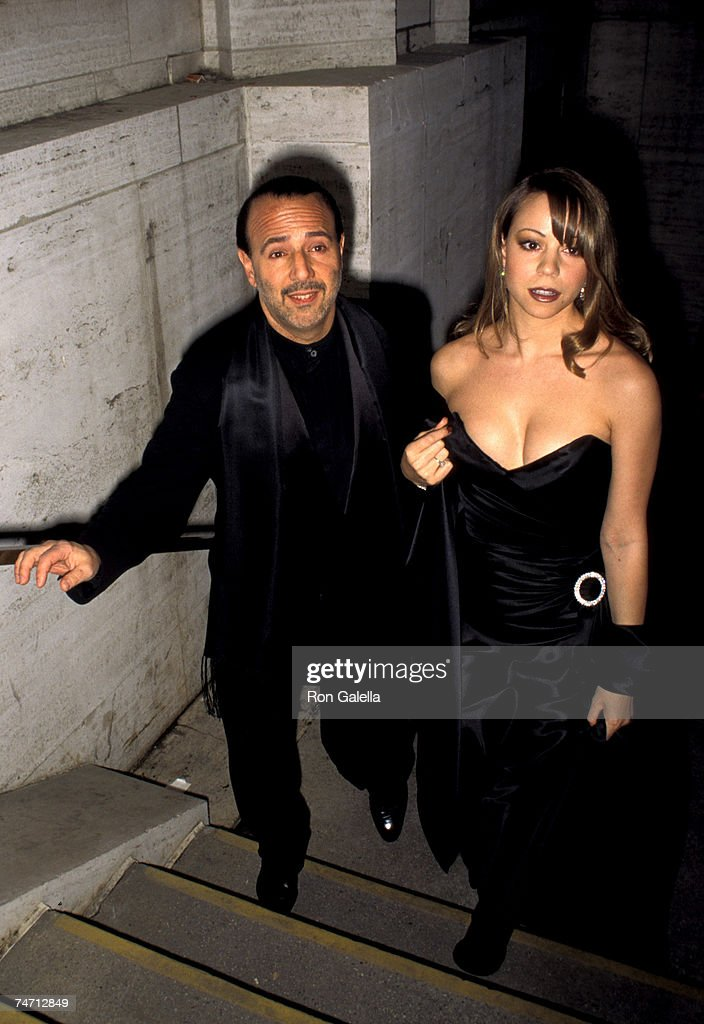 Tommy Mottola and <a gi-track='captionPersonalityLinkClicked' href=/galleries/search?phrase=Mariah+Carey&family=editorial&specificpeople=171647 ng-click='$event.stopPropagation()'>Mariah Carey</a> at the Lincoln Center in New York City, New York