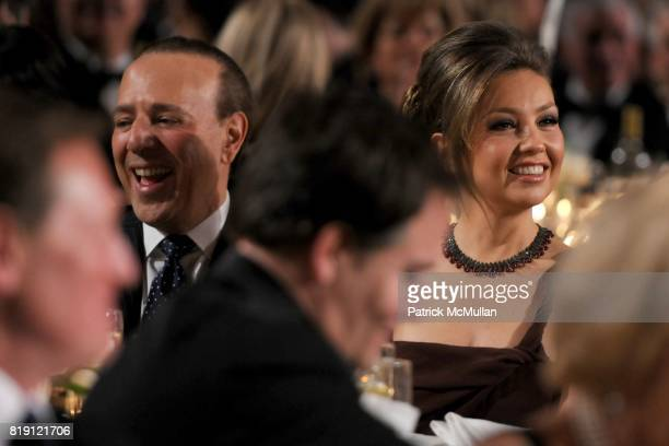 Tommy Mottola and Thalia attend NEW YORK CITY POLICE FOUNDATION 32nd Annual Gala at Waldorf=Astoria on March 16 2010 in New York City