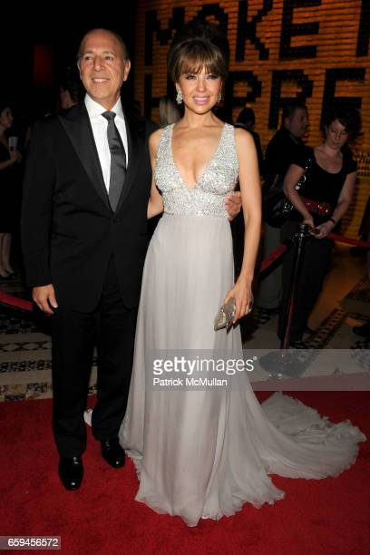 Tommy Mottola and Thalia attend NEW YORKERS FOR CHILDREN 10th Annual Fall Gala at Cipriani 42nd on September 22 2009 in New York City