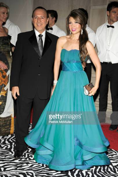 Tommy Mottola and Thalia attend THE COSTUME INSTITUTE GALA 'The Model As Muse' with Honorary Chair MARC JACOBS INSIDE at The Metropolitan Museum of...