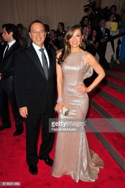 Tommy Mottola and Thalia attend THE METROPOLITAN MUSEUM OF ART'S Spring 2010 COSTUME INSTITUTE Benefit Gala at The Metropolitan Museum of Art on May...