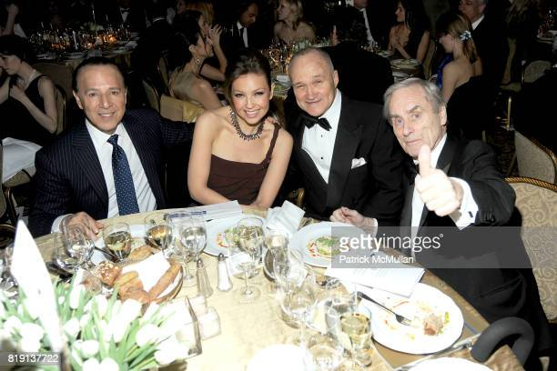 Tommy Mottola Thalia Mottola Commissioner Raymond Kelly and Sir Harry Evans attend NEW YORK CITY POLICE FOUNDATION 32nd Annual Gala at...