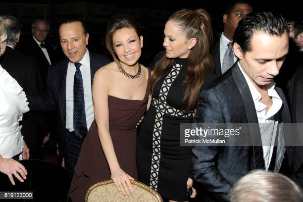Tommy Mottola Thalia Mottola Jennifer Lopez and Marc Anthony attend NEW YORK CITY POLICE FOUNDATION 32nd Annual Gala at Waldorf=Astoria on March 16...