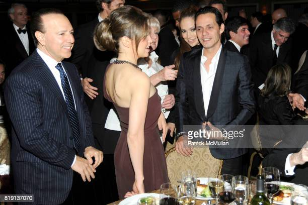 Tommy Mottola Thalia Mottola Veronica Kelly Jennifer Lopez and Marc Anthony attend NEW YORK CITY POLICE FOUNDATION 32nd Annual Gala at...