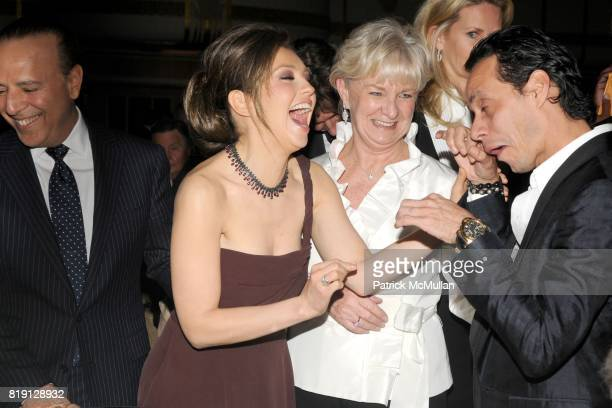 Tommy Mottola Thalia Veronica Kelly and Marc Anthony attend NEW YORK CITY POLICE FOUNDATION 32nd Annual Gala at Waldorf=Astoria on March 16 2010 in...