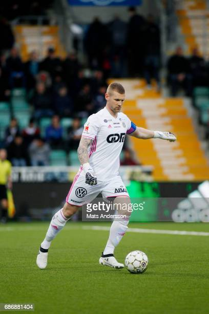 Tommy Naurin goalkeeper of GIF Sundsvall during the Allsvenskan match between GIF Sundsvall and IFK Goteborg at Idrottsparken on May 22 2017 in...