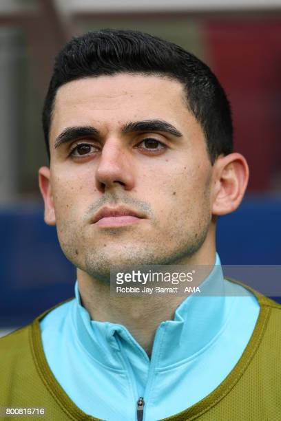 Tommy Rogic of Australia during the FIFA Confederations Cup Russia 2017 Group B match between Chile and Australia at Spartak Stadium on June 25 2017...
