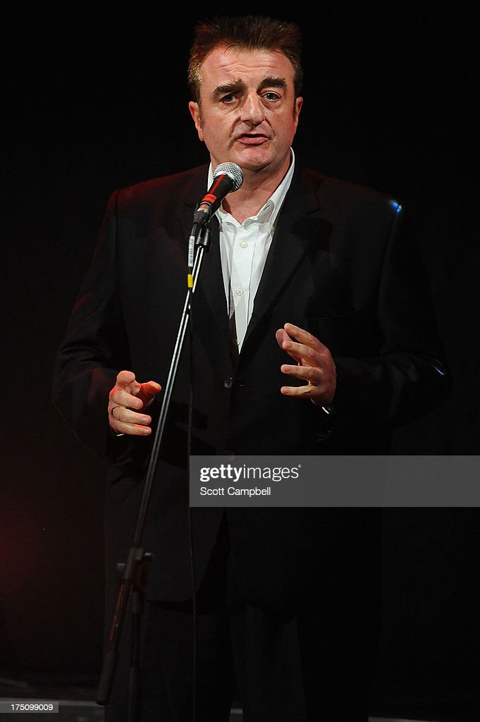 Tommy Sheppard, owner of Assembly Rooms, speaks during the Assembly Rooms Press Launch at The Edinburgh Festival Fringe on July 31, 2013 in Edinburgh, Scotland.