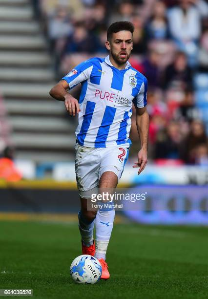 Tommy Smith of Huddersfield Town during the Sky Bet Championship match between Huddersfield Town and Burton Albion at the John Smiths Stadium Stadium...