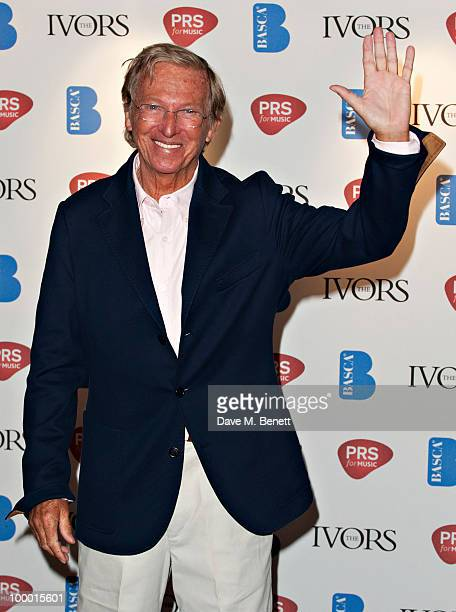 Tommy Steel attends the 55th Ivor Novello Awards held at Grosvenor House Hotel on May 20 2010 London England