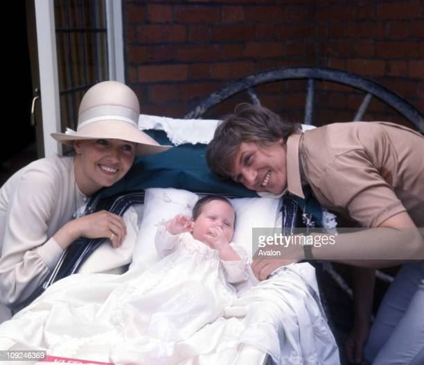 Tommy Steel With Wife Ann And Daughter Emma