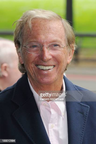 Tommy Steele attends the Ivor Novello Awards at Grosvenor House on May 20 2010 in London England