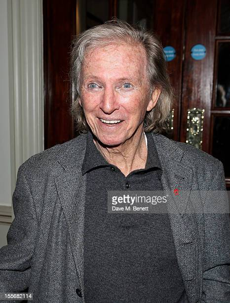 Tommy Steele attends the press night performance of 'Scrooge The Musical' at the London Palladium on November 6 2012 in London England