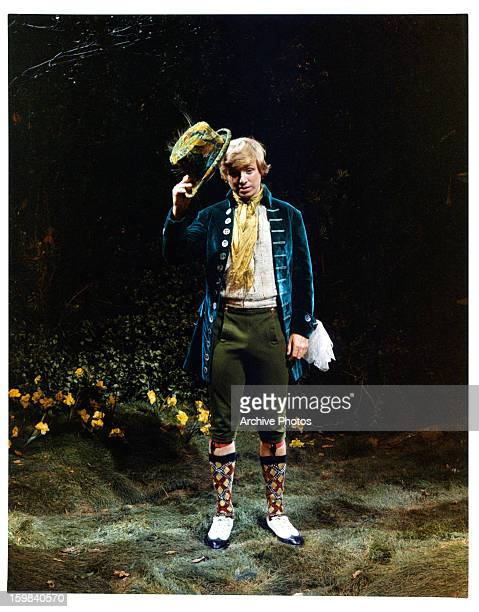 Tommy Steele tips his hat in a scene from the film 'Finian's Rainbow' 1968