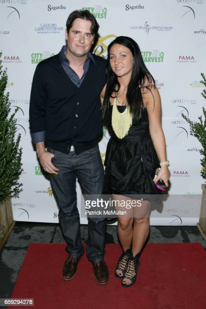Tommy Tardie and Deena Sayers attend Grand Opening of La Pomme at 37 W 26th St on September 17 2009 in New York City