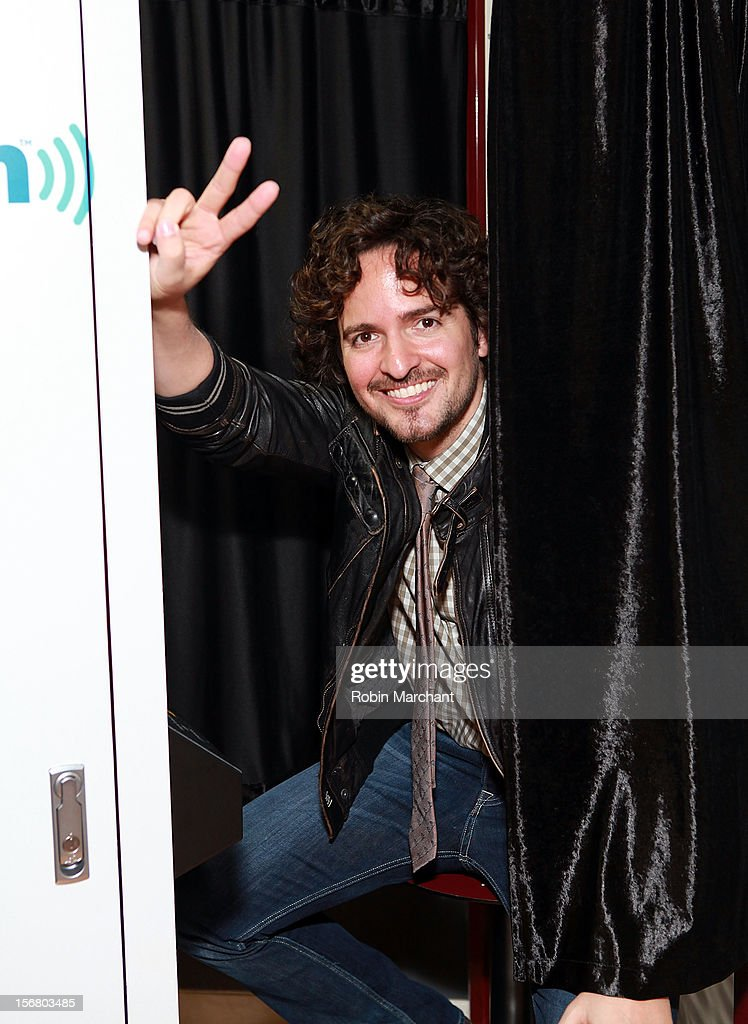 Tommy Torres visits the SiriusXM Studios on November 21, 2012 in New York City.