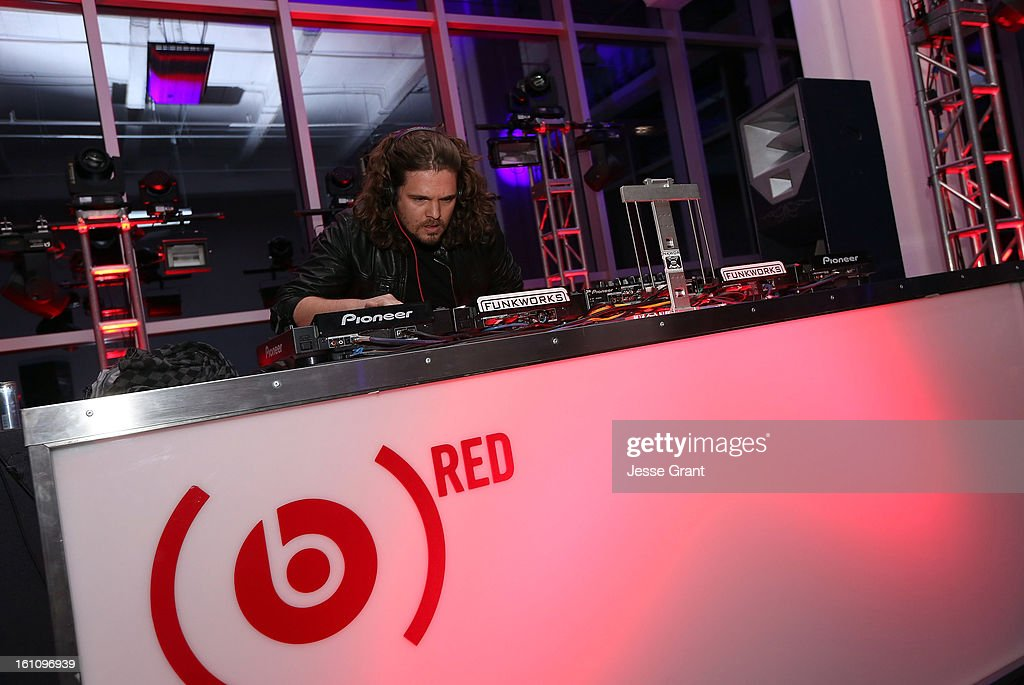 Tommy Trash attends the Skrillex, Diplo, Kaskade, Nero And Tommy Trash Perform Live, Supporting DANCE (RED), SAVE LIVES presented by Beats by Dr. Dre event at the AT&T Center on February 8, 2013 in Los Angeles, California.