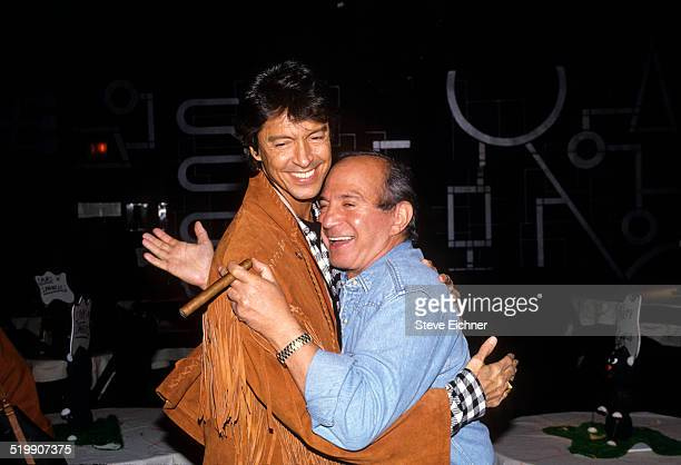 Tommy Tune and Ben Gazzara attend Spurs and Spangles at Palladium New York New York November 3 1993