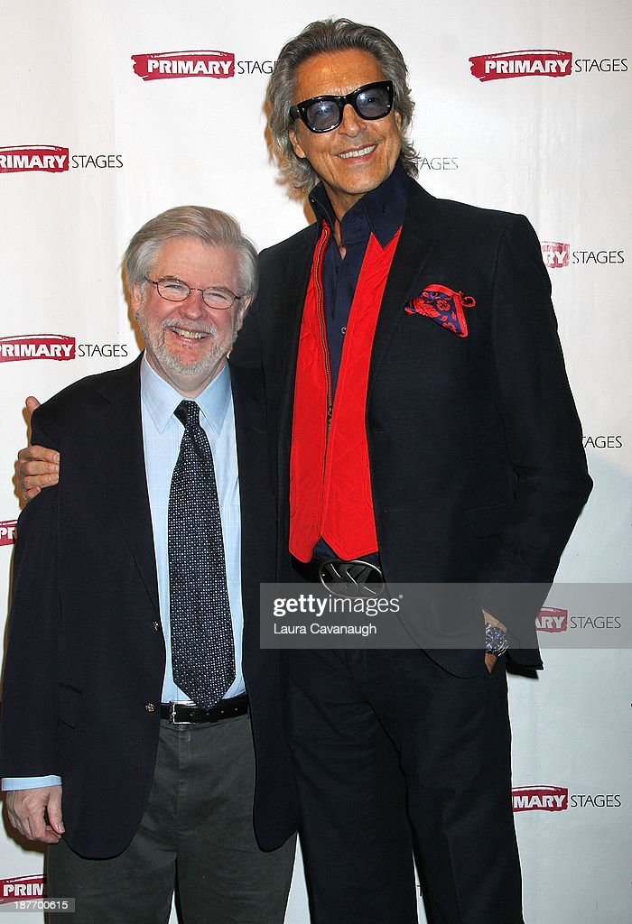 <a gi-track='captionPersonalityLinkClicked' href=/galleries/search?phrase=Tommy+Tune&family=editorial&specificpeople=208783 ng-click='$event.stopPropagation()'>Tommy Tune</a> and Christopher Durang attend the 2013 Primary Stages Annual Gala at The Edison Ballroom on November 11, 2013 in New York City.