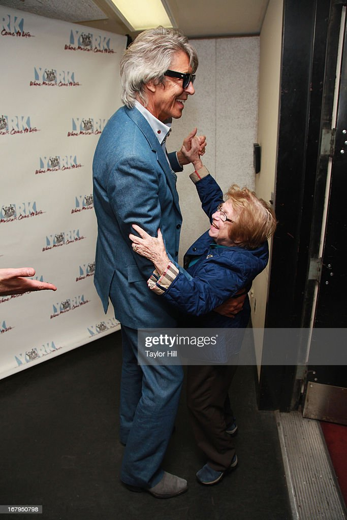 Tommy Tune and Dr. Ruth share a dance at the 'I'm A Stranger Here Myself' Off Broadway Opening Night at The York Theatre at Saint Peter's on May 2, 2013 in New York City.