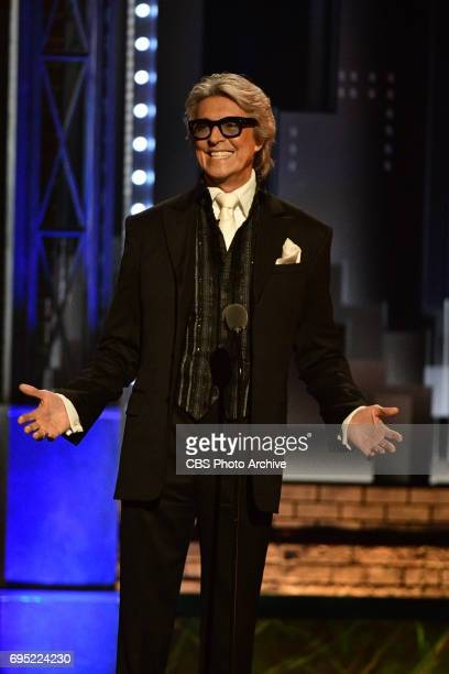 Tommy Tune at THE 71st ANNUAL TONY AWARDS broadcast live from Radio City Music Hall in New York City on Sunday June 11 2017 on the CBS Television...