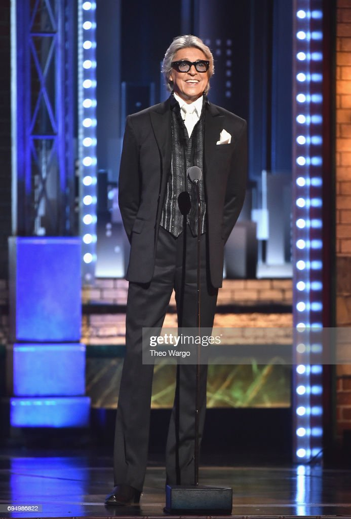 Tommy Tune speaks onstage during the 2017 Tony Awards at Radio City Music Hall on June 11, 2017 in New York City.