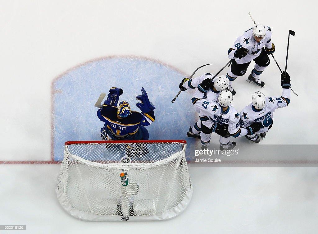 San Jose Sharks v St Louis Blues - Game Two