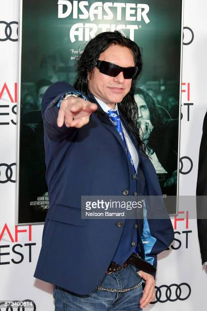 Tommy Wiseau attends the screening of 'The Disaster Artist' at AFI FEST 2017 Presented By Audi at TCL Chinese Theatre on November 12 2017 in...