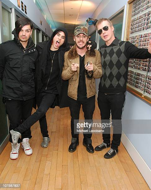 Tomo Milicevic Jared Leto Shannon Leto and Matt Wachter