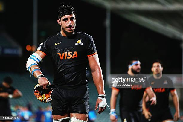 Tomás Lavanini of the Jaguares looks on after losing the round 6 super rugby match between the Blues and the Jaguares at QBE Stadium on April 2 2016...