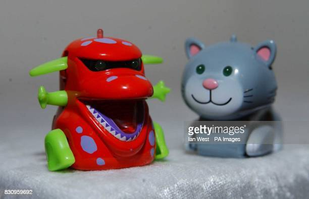 Tomy Micropets on display at Dream Toys 2002 The Industry's Toybox exhibition in London The toys are tipped to take Christmas by storm by becoming...