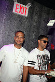 Tone and recording artist Tru Life attend Club Aces on July 21 2016 in New York City