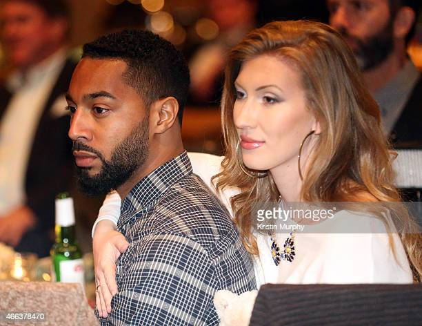 Tone Bell and Sarah Schubert attend Operation Smile's 4th Annual Celebrity Ski Smile Challenge VIP Dinner on March 14 2015 in Park City Utah
