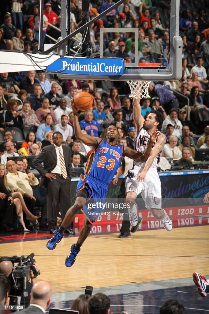 New York Knicks v New Jersey Nets