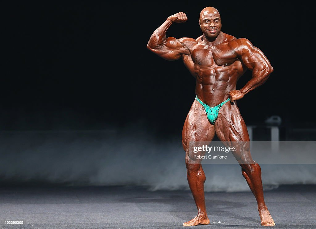 Toney Freeman of the USA poses during the IFBB Australia Pro Grand Prix XIII at The Plenary on March 9, 2013 in Melbourne, Australia.