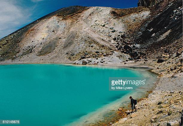 Tongariro crater lake