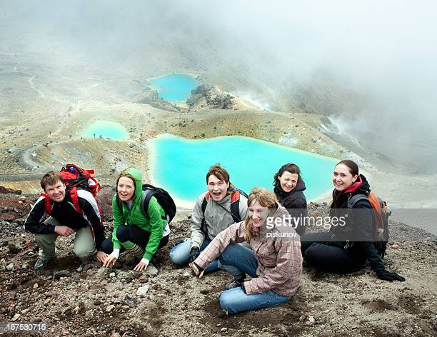Tongariro Crossing series - Emerald Lakes