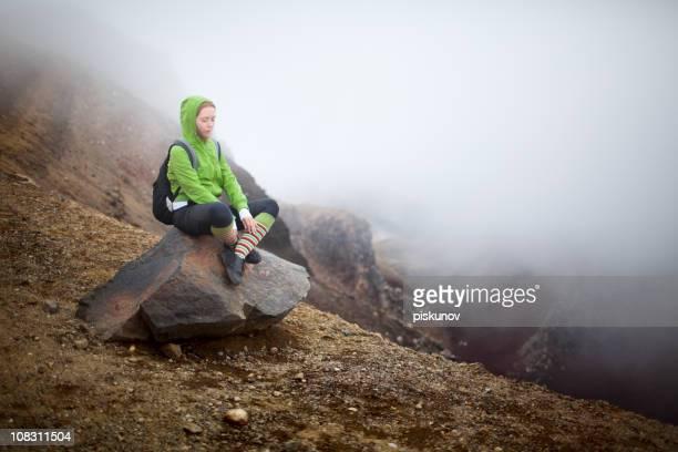 Tongariro-Serie-in the mist