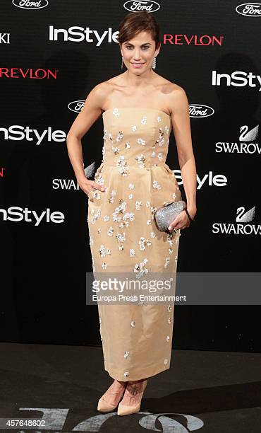 Toni Acosta attends the InStyle Magazine 10th anniversary party on October 21 2014 in Madrid Spain