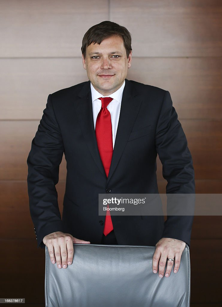 Toni Balazic, chief executive officer of Mercator Poslovni Sistem d.d., poses for a photograph at the company's headquarters in Ljubljana, Slovenia, on Wednesday, May 8, 2013. The Slovenian retailer, which has been expanding in the Balkans to increase sales, has been hit by the economic downturn in Slovenia, Croatia and Serbia as consumers spend less and the jobless rates in the region rise. Photographer: Chris Ratcliffe/Bloomberg via Getty Images