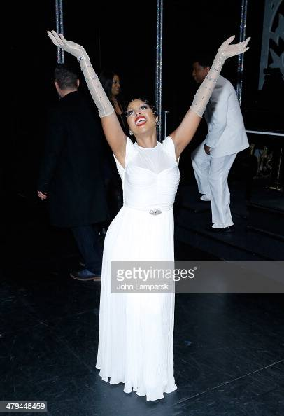 Toni Braxton And Kenny 'Babyface' Edmonds Join The Cast Of Broadway's 'After Midnight' at The Brooks Atkinson Theatre on March 18 2014 in New York...