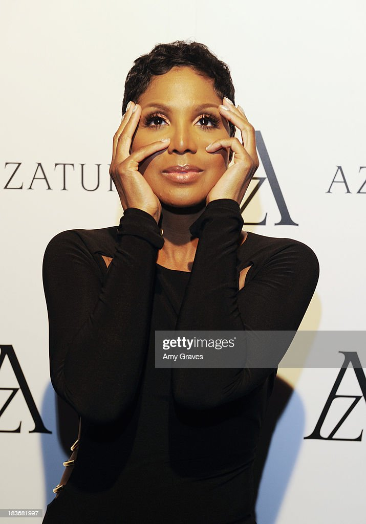<a gi-track='captionPersonalityLinkClicked' href=/galleries/search?phrase=Toni+Braxton&family=editorial&specificpeople=213737 ng-click='$event.stopPropagation()'>Toni Braxton</a> attends the Black Diamond Affair Presented by Azature at Sunset Tower on October 8, 2013 in West Hollywood, California.