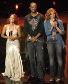 Toni Braxton Brian McKnight and Ciara cohosts of the 10th Annual Soul Train 'Lady of Soul Awards'