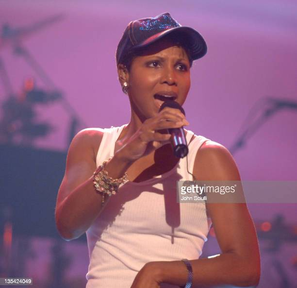 Toni Braxton during 2005 BET Awards Rehearsals Day Two at Kodak Theatre in Hollywood California United States
