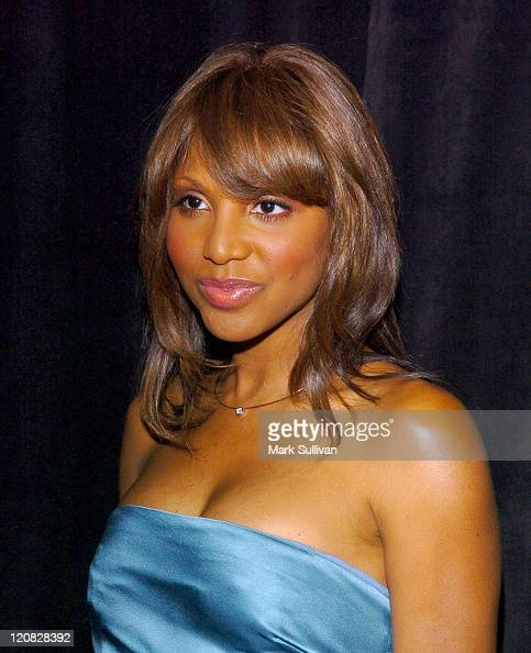 Toni Braxton during 2005 Triumph of the Spirit Awards Gala Arrivals at Beverly Hilton Hotel in Beverly Hills California United States