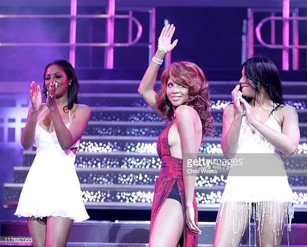 Toni Braxton during Premiere of Toni Braxton's 'Revealed' at The Flamingo Show at Flamingo in Las Vegas Nevada United States