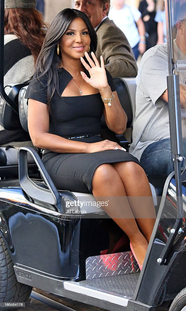 Toni Braxton is seen on January 31, 2013 in Los Angeles, California.