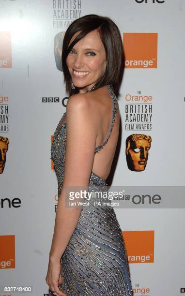 Toni Colette arrives for the 2007 Orange British Academy Film Awards at the Royal Opera House in Covent Garden central London