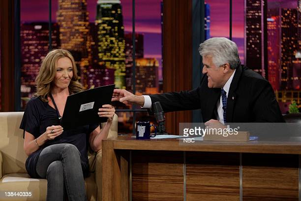 LENO Toni Collette Air Date Episode 3689 Pictured Actress Toni Collette during an interview with host Jay Leno on January 13 2009