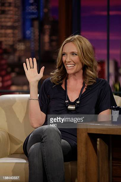 LENO Toni Collette Air Date Episode 3689 Pictured Actress Toni Collette during an interview on January 13 2009